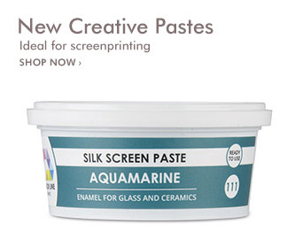 New Creative Pastes. Ideal for screenprinting.