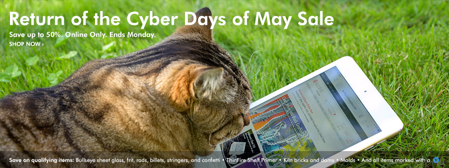Cyber Days of May Sale, Save up to 50%