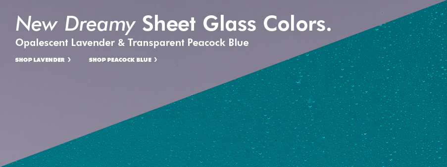 New Sheet Glass Colors