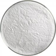 Opaque White Opalescent, Powder Frit, Fusible, 1 lb. jar