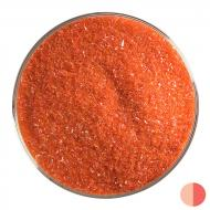 Tomato Red Opalescent, Fine Frit, Fusible, 5 lb. jar