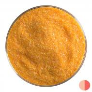 Tangerine Orange Opalescent, Fine Frit, Fusible, 5 lb. jar