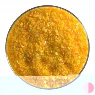 Tangerine Orange Opalescent, Medium Frit, Fusible, 1 lb. jar