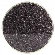 Black Opalescent, Fine Frit, Fusible, 1 lb. jar