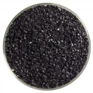 Black Opalescent, Medium Frit, Fusible, 5 lb. jar