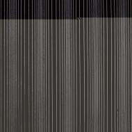 Black Opalescent, Thin, Accordion Texture, 2 mm, Color Sample, 2x2 in.