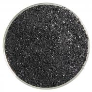Stiff Black Opalescent, Fine Frit, Fusible, 5 oz. jar