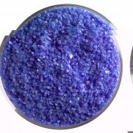 Cobalt Blue Opalescent, Medium Frit, Fusible, 1 lb. jar