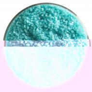 Turquoise Blue Opalescent, Medium Frit, Fusible, 5 lb. jar