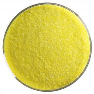 Canary Yellow Opalescent, Fine Frit, Fusible, 5 lb. jar