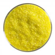 Canary Yellow Opalescent, Medium Frit, Fusible, 1 lb. jar