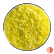 Canary Yellow Opalescent, Coarse Frit, Fusible, 5 lb. jar