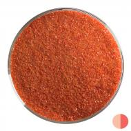 Red  Opalescent, Fine Frit, Fusible, 1 lb. jar