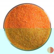 Orange  Opalescent, Fine Frit, Fusible, 1 lb. jar