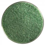 Dark Forest Green Opalescent, Fine Frit, Fusible, 5 lb. jar