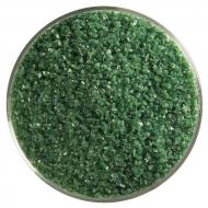 Dark Forest Green Opalescent, Medium Frit, Fusible, 5 lb. jar
