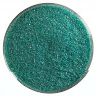 Teal Green Opalescent, Fine Frit, Fusible, 5 oz. jar