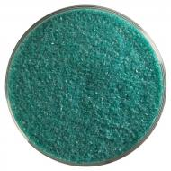 Teal Green Opalescent, Fine Frit, Fusible, 5 lb. jar