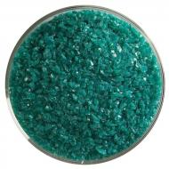 Teal Green Opalescent, Medium Frit, Fusible, 1 lb. jar