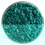 Teal Green Opalescent, Coarse Frit, Fusible, 5 oz. jar