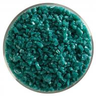 Teal Green Opalescent, Coarse Frit, Fusible, 5 lb. jar