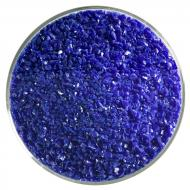 Deep Cobalt Blue Opalescent, Medium Frit, Fusible, 5 oz. jar