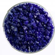 Deep Cobalt Blue Opalescent, Coarse Frit, Fusible, 5 lb. jar