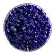 Deep Cobalt Blue Opalescent, Coarse Frit, Fusible, 1 lb. jar