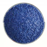 Indigo Blue Opalescent, Medium Frit, Fusible, 1 lb. jar