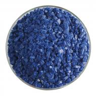 Indigo Blue Opalescent, Coarse Frit, Fusible, 1 lb. jar