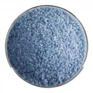 Dusty Blue Opalescent, Medium Frit, Fusible, 5 lb. jar