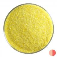 Sunflower Yellow Opalescent, Fine Frit, Fusible, 1 lb. jar
