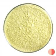 Sunflower Yellow Opalescent, Powder Frit, Fusible, 1 lb. jar