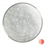 Translucent White Opalescent, Coarse Frit, Fusible, 5 lb. jar