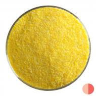 Marigold Yellow Opalescent, Fine Frit, Fusible, 5 oz. jar