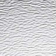 Clear Transparent, Granite Ripple Texture, 3mm, Fusible, 17x20 in., Half Sheet
