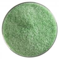 Light Green Transparent, Fine Frit, Fusible, 1 lb. jar