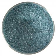 Aquamarine Blue Transparent, Fine Frit, Fusible, 5 lb. jar