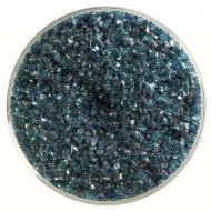 Aquamarine Blue Transparent, Medium Frit, Fusible, 1 lb. jar