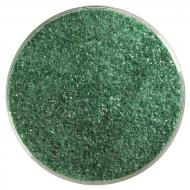 Aventurine Green Transparent, Fine Frit, Fusible, 5 oz. jar