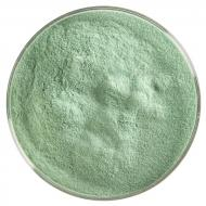 Aventurine Green Transparent, Powder Frit, Fusible, 5 oz. jar