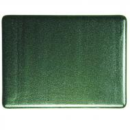 Aventurine Green Transparent, Double-rolled, 3 mm, Fusible, 35x20 in., Full Sheet