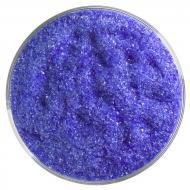 Deep Royal Blue Transparent, Fine Frit, Fusible, 1 lb. jar