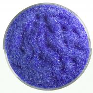 Deep Royal Blue Transparent, Fine Frit, Fusible, 5 oz. jar