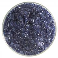 Midnight Blue Transparent, Medium Frit, Fusible, 1 lb. jar