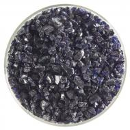 Midnight Blue Transparent, Coarse Frit, Fusible, 5 oz. jar