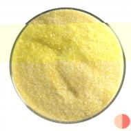 Yellow Transparent, Fine Frit, Fusible, 5 lb. jar