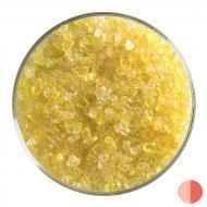 Yellow Transparent, Coarse Frit, Fusible, 1 lb. jar