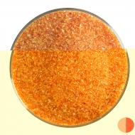 Red Transparent, Fine Frit, Fusible, 1 lb. jar