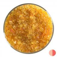 Orange Transparent, Coarse Frit, Fusible, 1 lb. jar